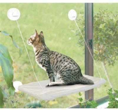 PETPAWJOY Cat Window Perch