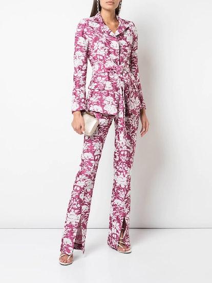 Raquelle floral print blazer