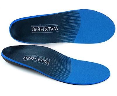 WALK·HERO COMFORT AND SUPPORT Plantar Fasciitis Feet Insoles