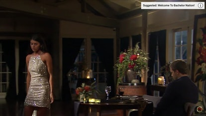 Madison's mini dress from The Bachelor is another sparkly choice from the contestant.