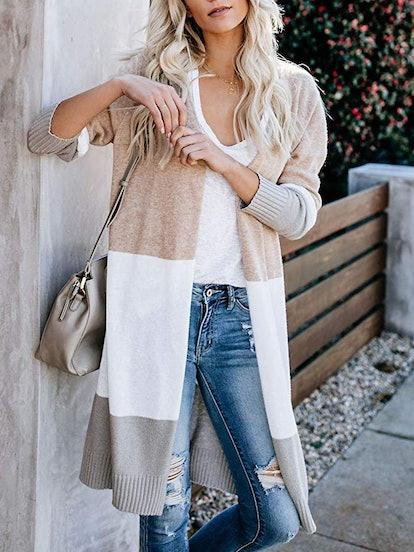 Saodimallsu Lovaru Womens Boho Long Sleeve Sweater