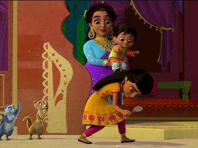"Disney Junior gave Romper the first look at ""Mira, Royal Detective,"" a new show centered around a brave and resourceful girl who gets appointed royal detective in the magical India-inspired land of Jalpur."