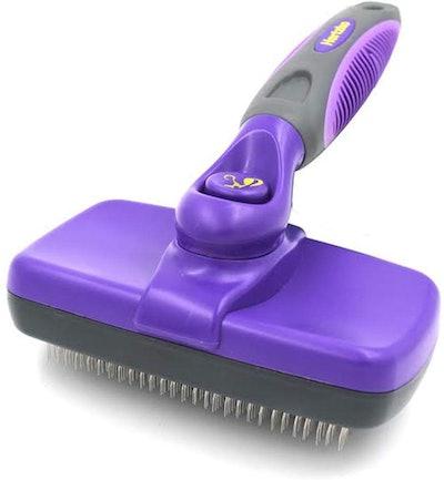 Hertzko Self Cleaning Grooming Brush