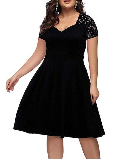 ORICSSON Women's Party Evening Dress
