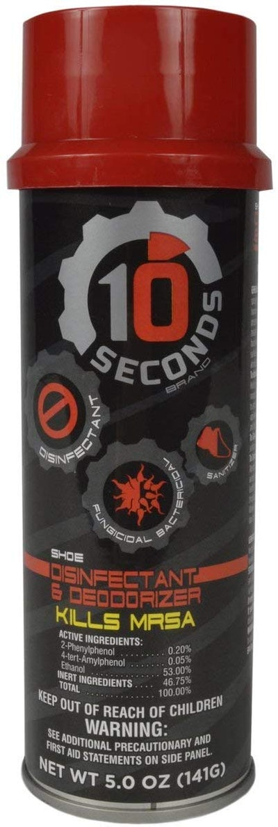 10-Seconds Shoe Deodorizer And Disinfectant (5 Oz)