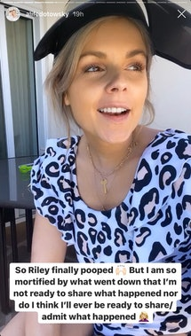 Ali Fedotowsky-Manno detailed a hilarious story about her toddler pooping in a resort pool on Instag...