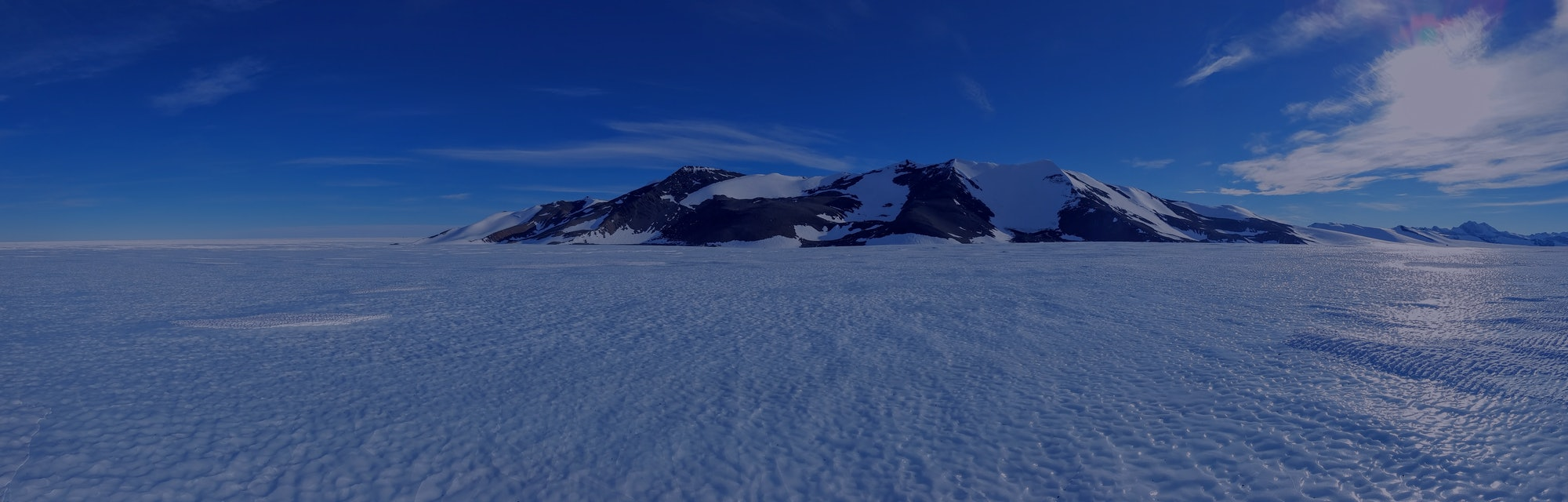 A blue ice area, part of the West Antarctic Ice Sheet.