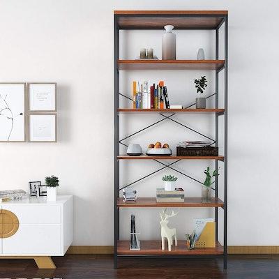 Shelf Vintage Industrial Bookcase