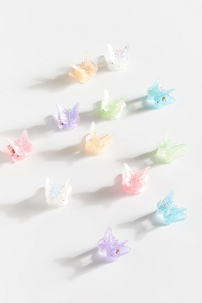 Vintage Butterfly Hair Clip Set