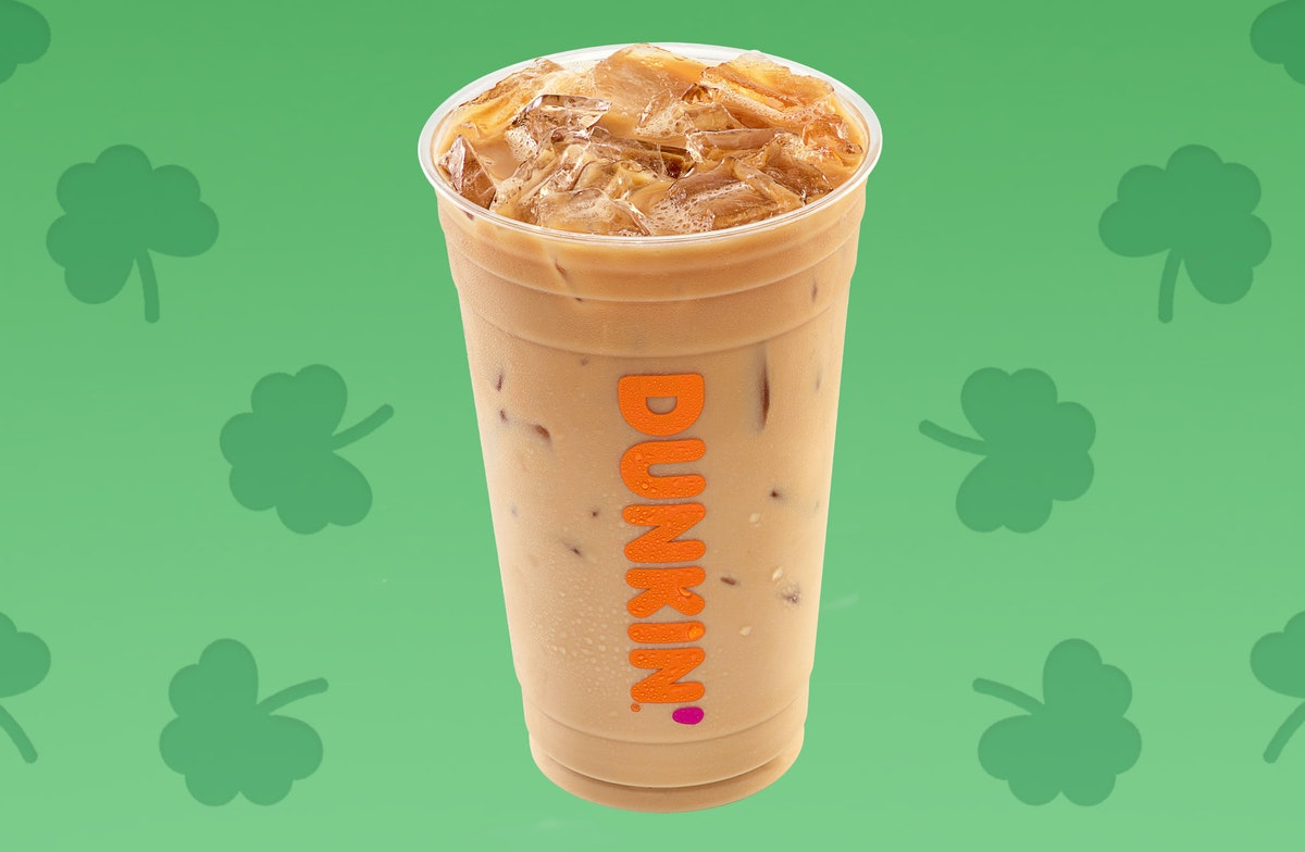 Dunkin's Irish Creme coffee is back for St. Patrick's Day 2020.
