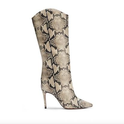Maryana Snake Print Tall Boot