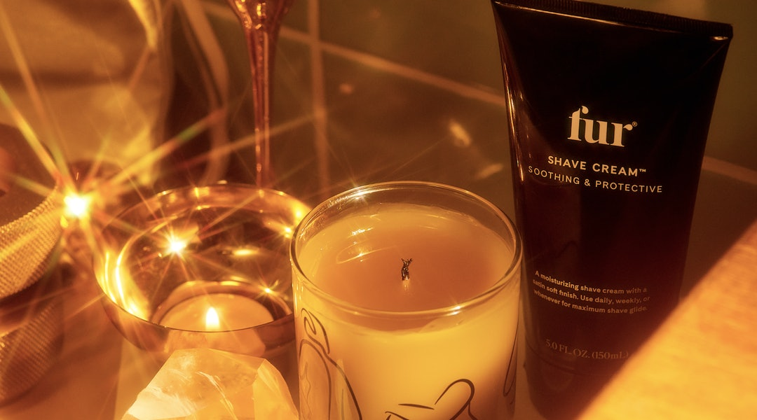 Fur's new Shave Cream and candle.