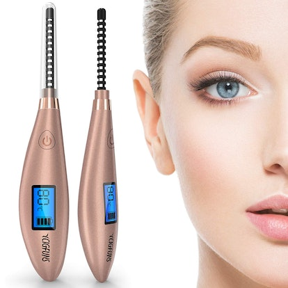 YCIGFUNS Heated Eyelash Curler