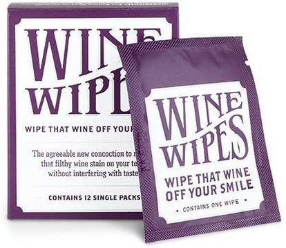 True Wine Stain Removing Wipes (12-Pack)