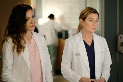 Meredith & Carina are worried about Andrew on 'Grey's Anatomy'