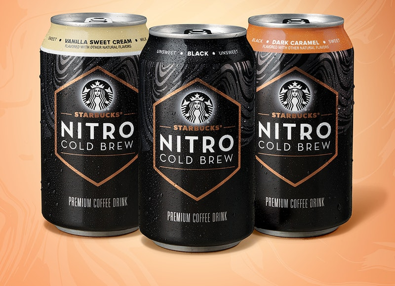 Starbucks is launching ready-to-drink nitro cold brew cans.