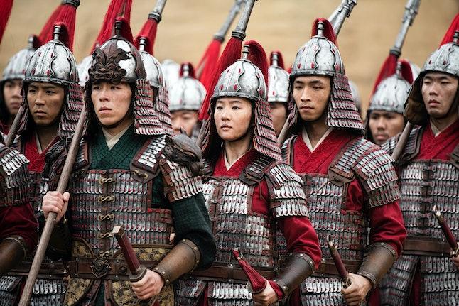 Yifei Liu and Yoson An in 'Mulan' Live Action