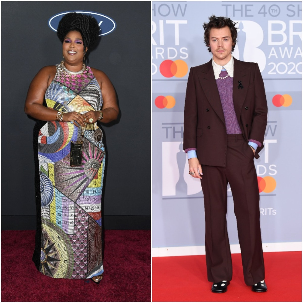 Lizzo and Harry Styles