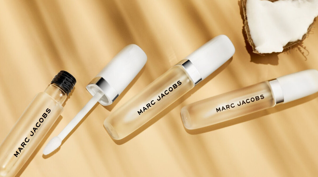 Marc Jacobs Beauty's new Re(cover) Hydrating Coconut Lip Oil.