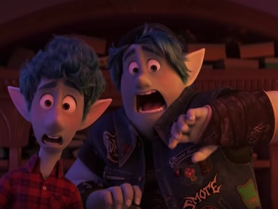 Pixar's newest film, 'Onward' is currently in theaters and take a while before people see it on Disney+.