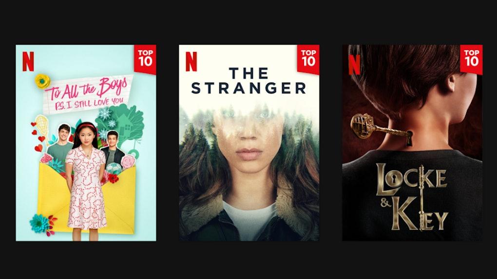 Netflix Top Ten List Sample