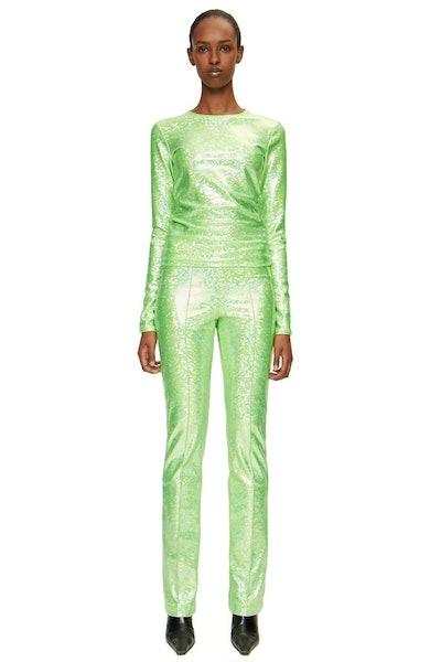 Lissi Green Shimmer Pants