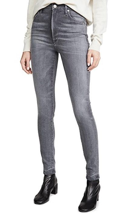 Chrissy High Rise Skinny Jeans