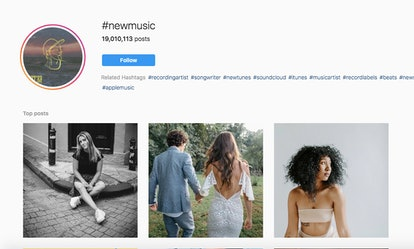 #NewMusic has more than 19 million posts.