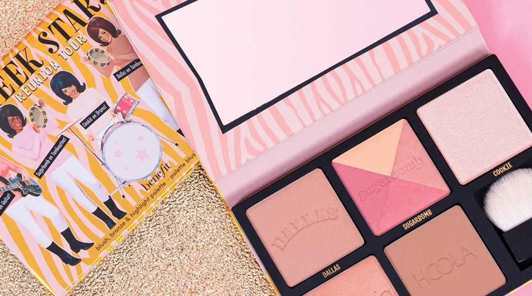 Benefit Cosmetics' new Cheek Stars Reunion Tour Palette and packaging.