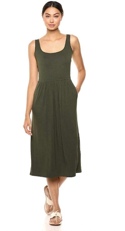 Daily Ritual Jersey Midi Dress