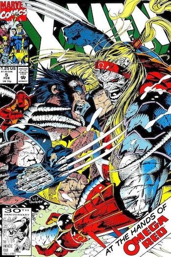 X-Men Jim Lee Omega Red
