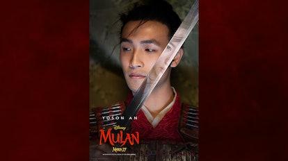 Yoson An in 'Mulan'