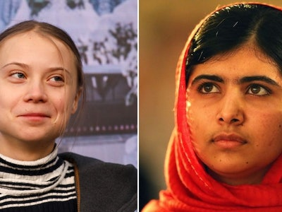 Greta Thunberg and Malala Yousafzai met earlier this weekend in the United Kingdom.