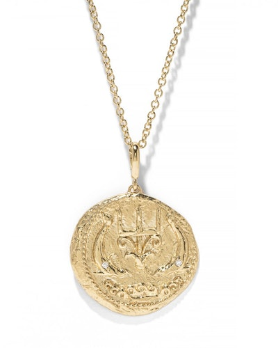 Limited Edition Large Of The Sea Coin Necklace