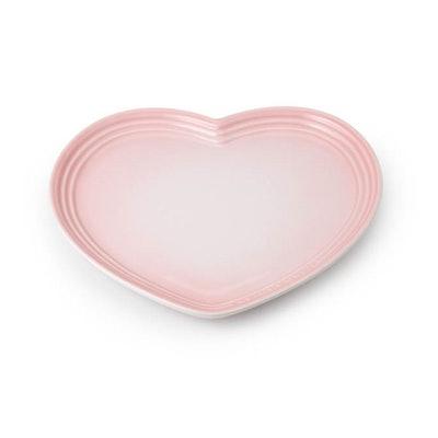 Stoneware Heart Plate