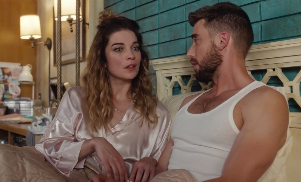 Alexis and Ted broke up on 'Schitt's Creek.'