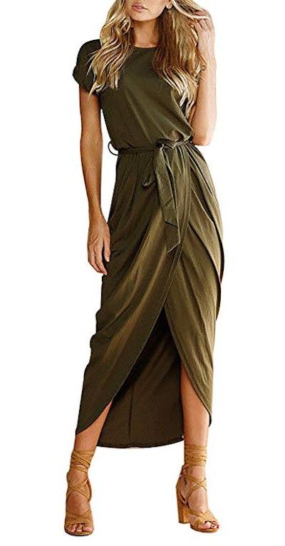 Yidarton Women's Casual Maxi Dress