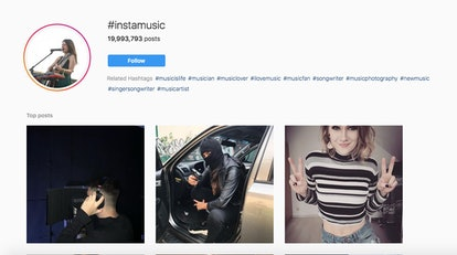 #InstaMusic lets you stay up to date on Instagram music.