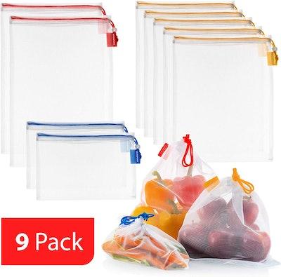 Vandoona Produce Bags (9-Piece Set)