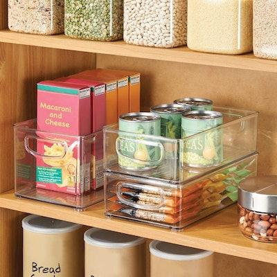 mDesign Kitchen Storage Bins (8-Pack)