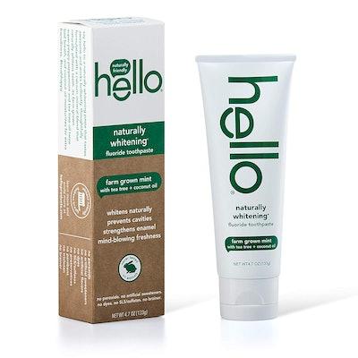 Hello Naturally Whitening Fluoride Toothpaste (4-Pack)