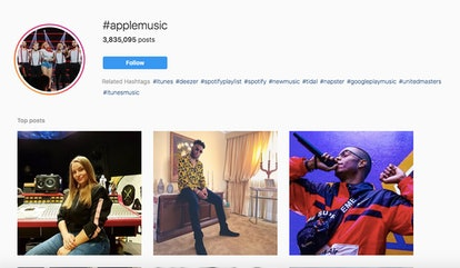 #AppleMusic can direct you to music available on Apple Music.