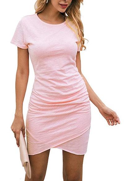 BTFBM Women's T-Shirt Dress