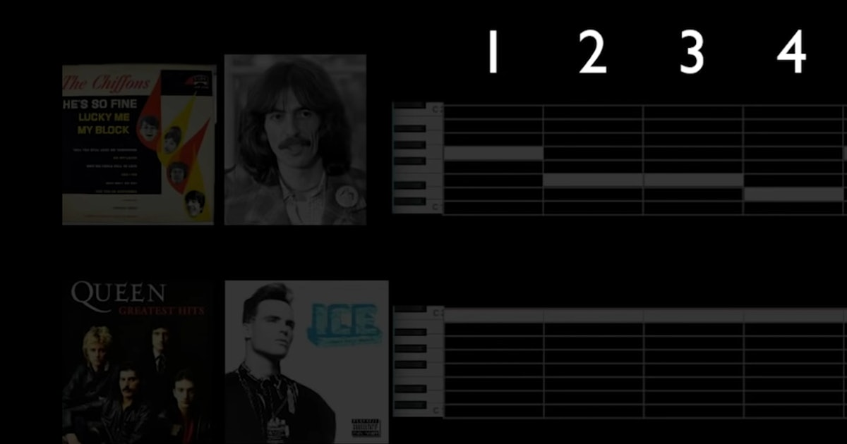 An algorithm tried to find every possible pop melody