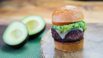 Disney's new plant-based meat options include a Petite Impossible Burger with avocado.