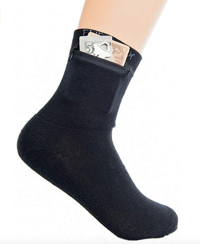 Flippysox Zippered Sock Wallet