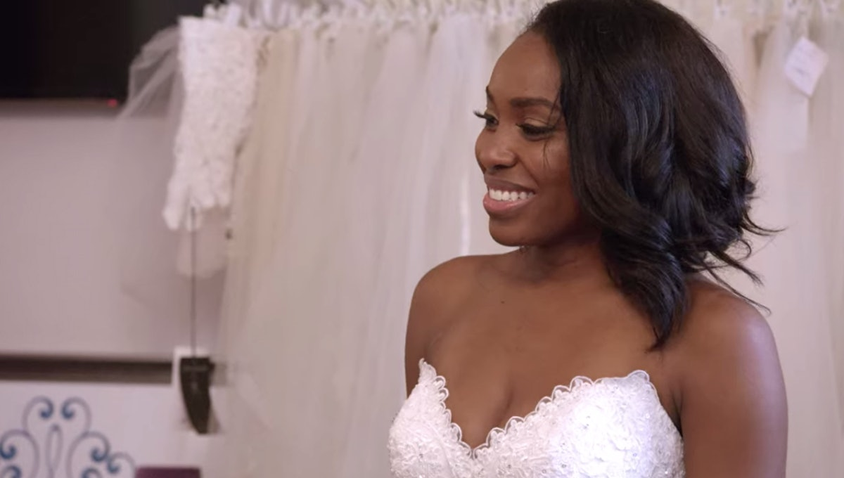 Lauren in her wedding dress on 'Love Is Blind'