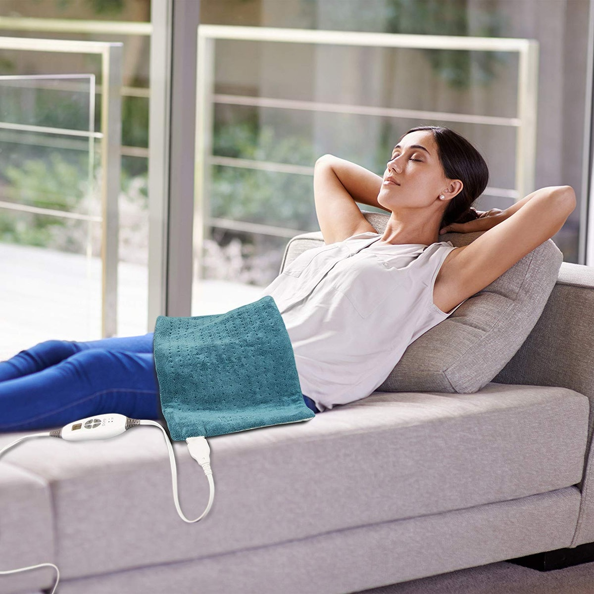 Pure Enrichment PureRelief XL Electric Heating Pad
