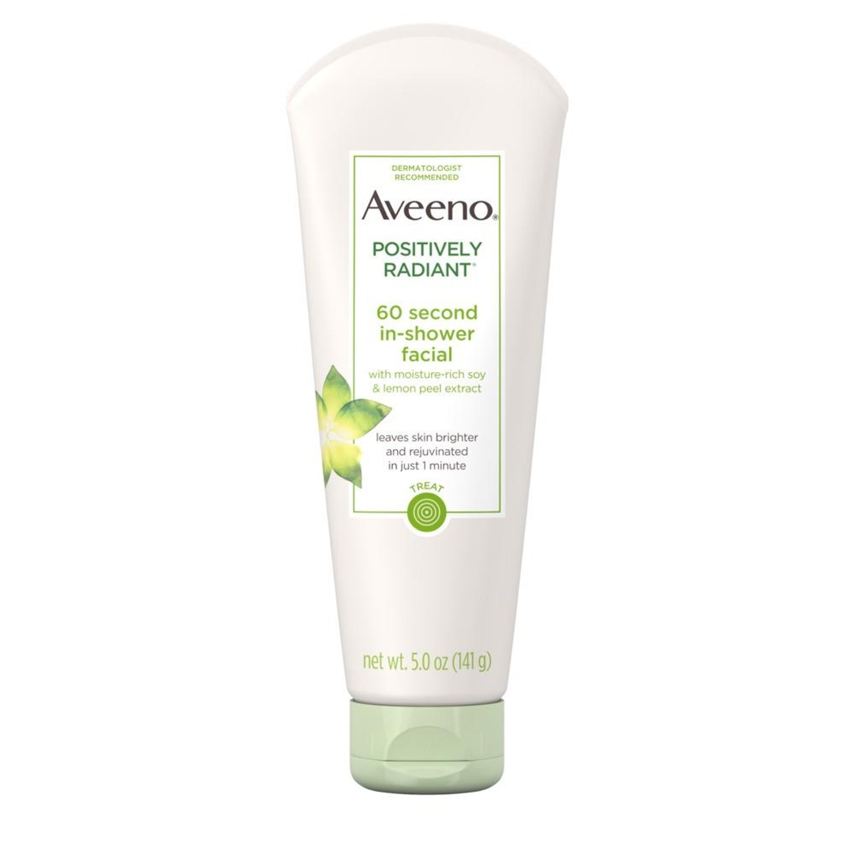 Aveeno Active Naturals Positively Radiant 60 Second In-Shower Facial
