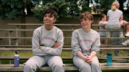 Sydney and Dina on 'I Am Not Okay with This' have a friendship that grows complicated in Season 1.